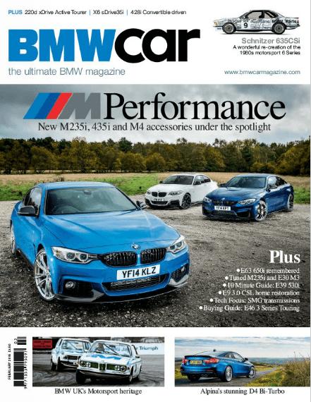 BMW Car February 2015