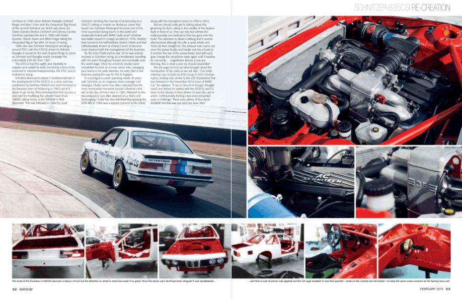 BMW Car February 2015 Pages 52 53