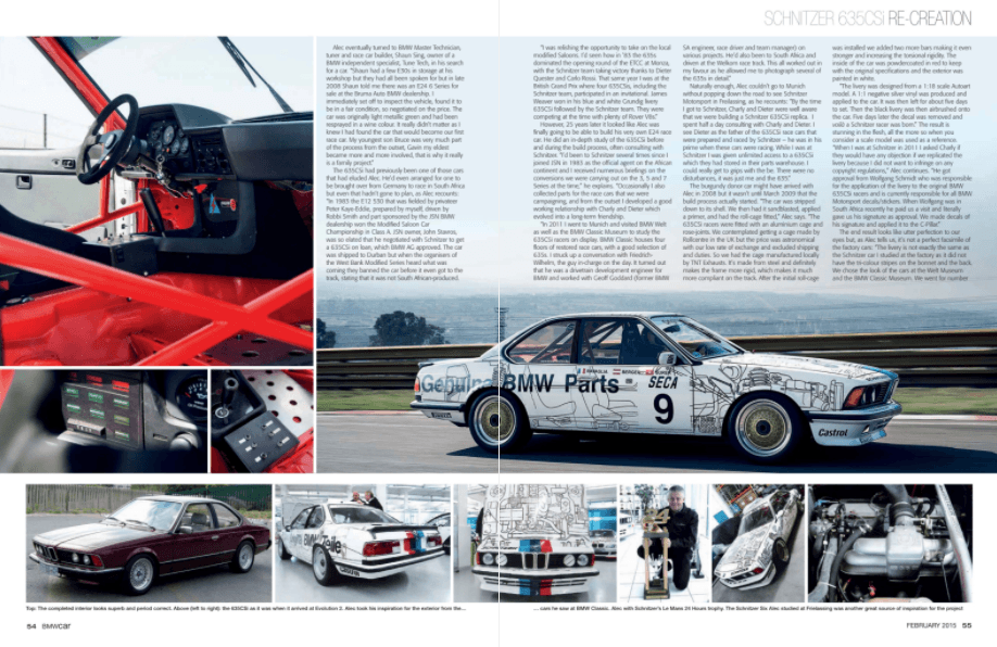 BMW Car February 2015 Pages 54 55
