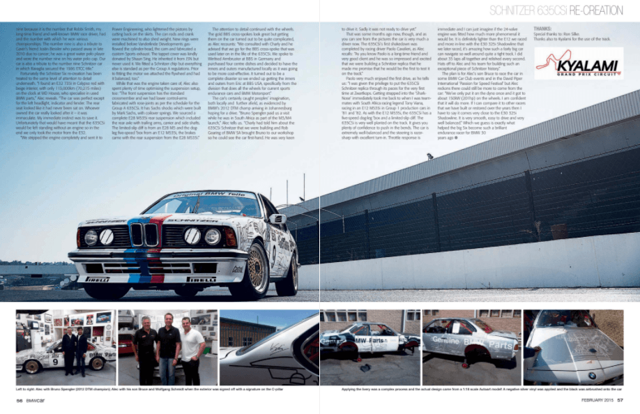 BMW Car February 2015 Pages 56 57