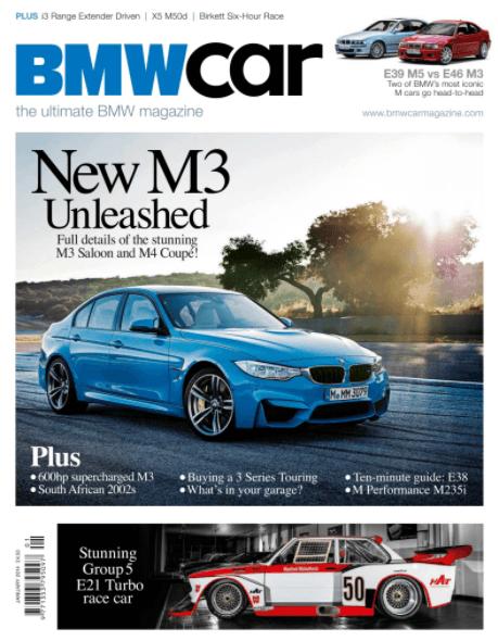 BMW Car January 2014