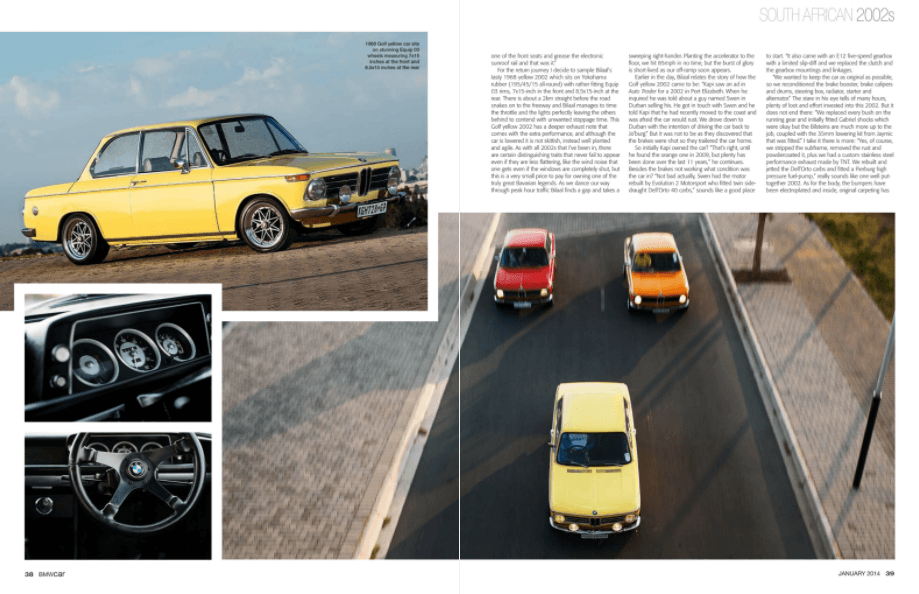 BMW Car January 2014 Pages 38 39