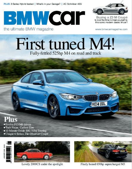 BMW Car January 2015