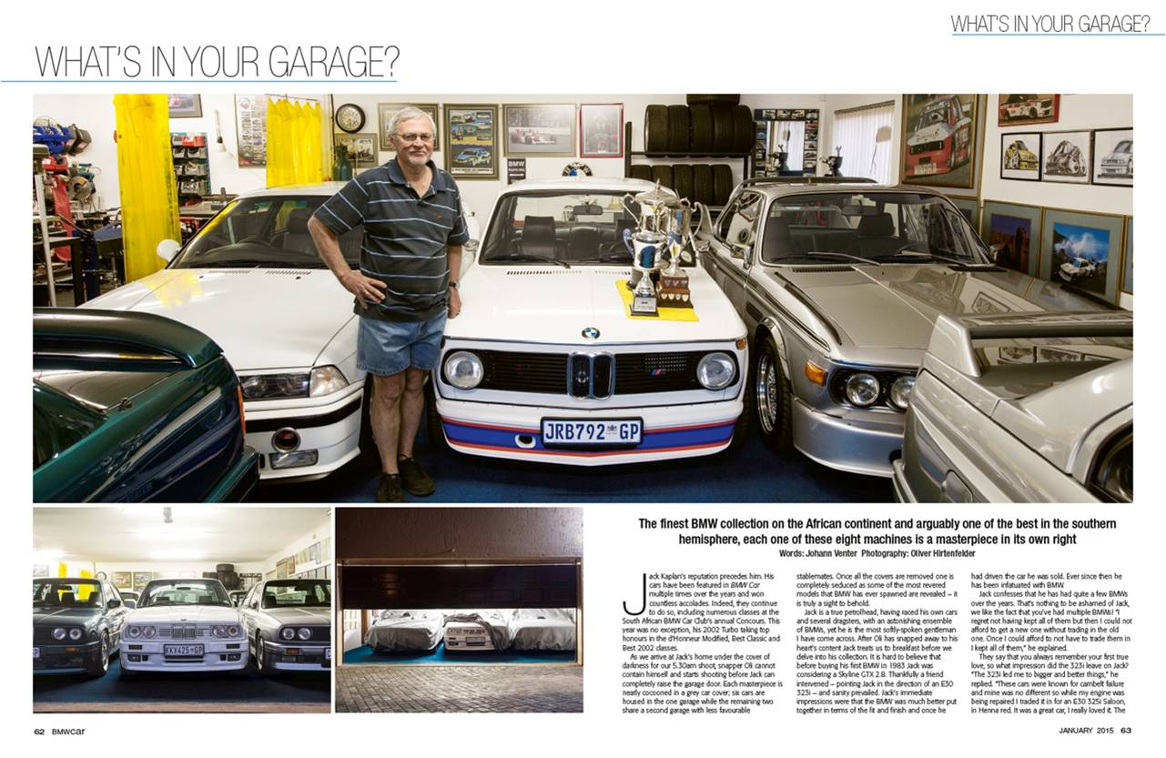 BMW Car January 2015 Pages 62 63