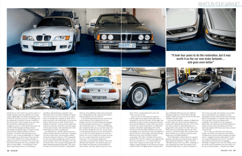 BMW Car January 2015 Pages 66 67