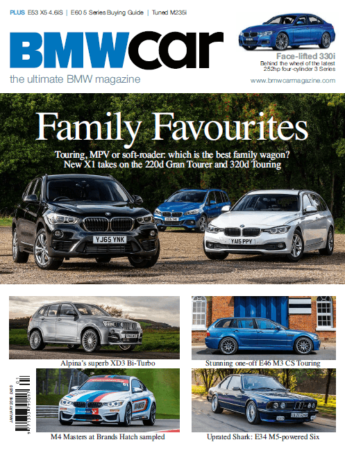 BMW Car January 2016