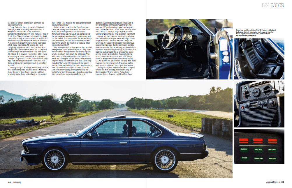 BMW Car January 2016 Pages 68 69