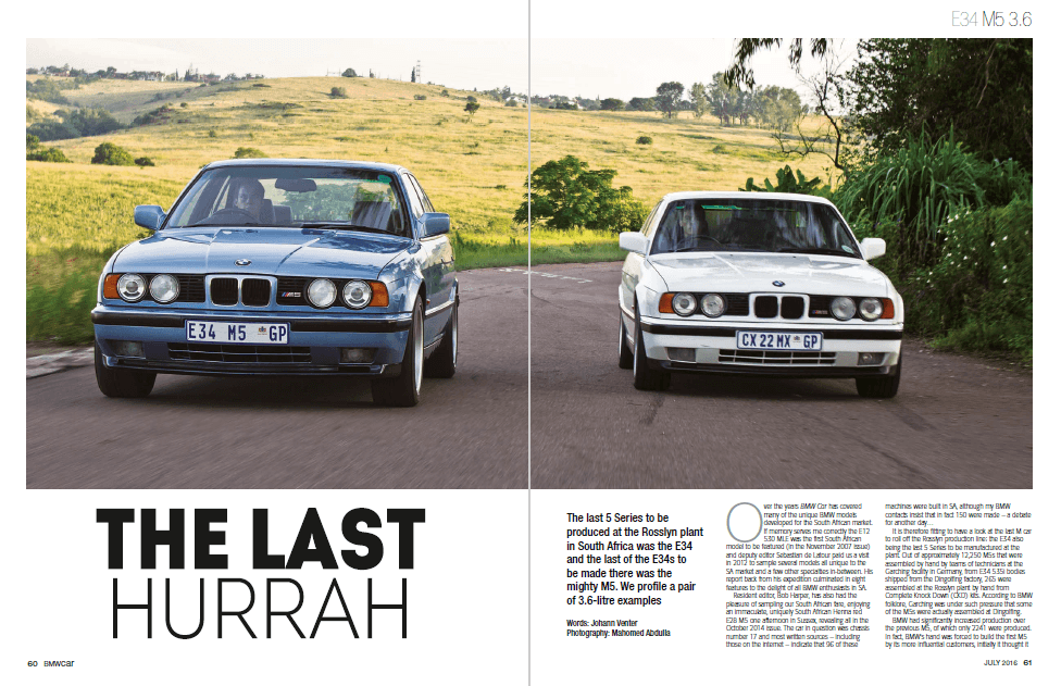 BMW Car July 2016 Pages 60 61