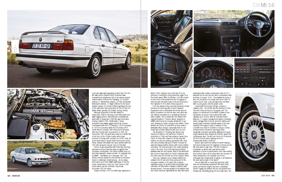 BMW Car July 2016 Pages 62 63