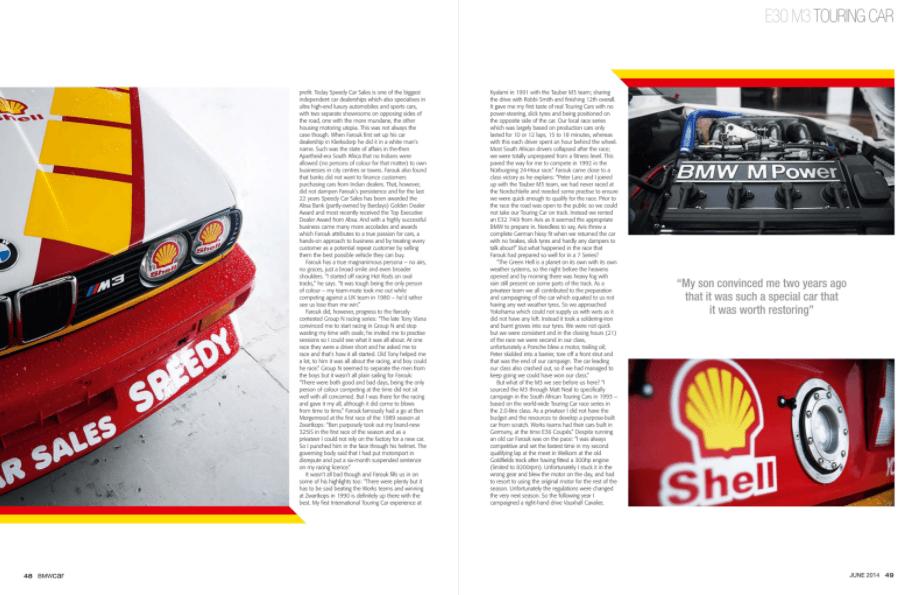 BMW Car June 2014 Pages 48 49