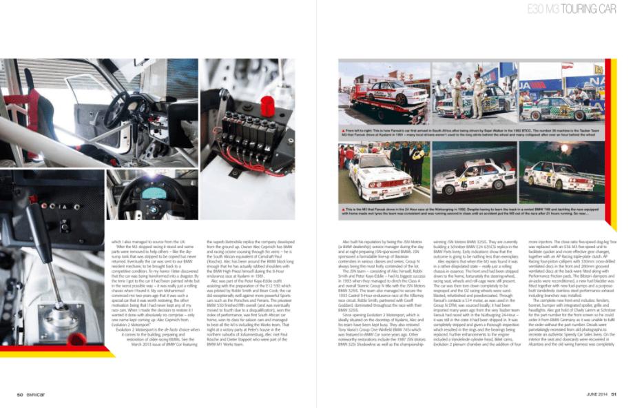 BMW Car June 2014 Pages 50 51