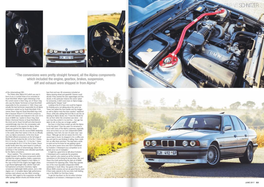 BMW Car June 2017 Pages 52 53