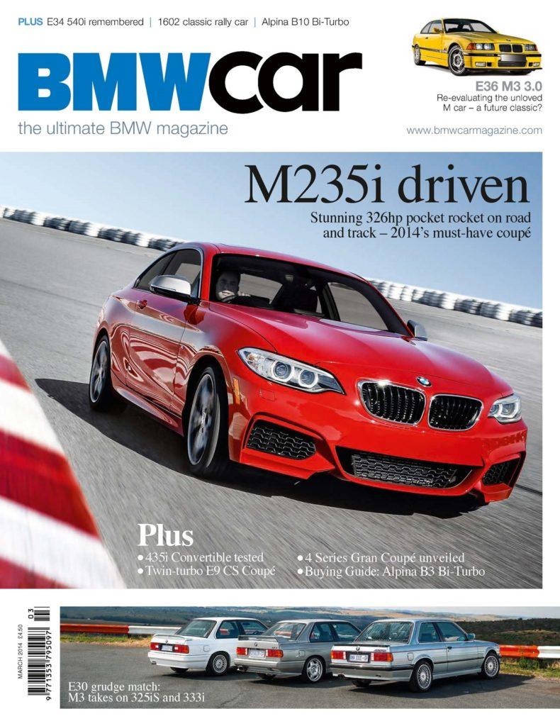 BMW Car March 2014