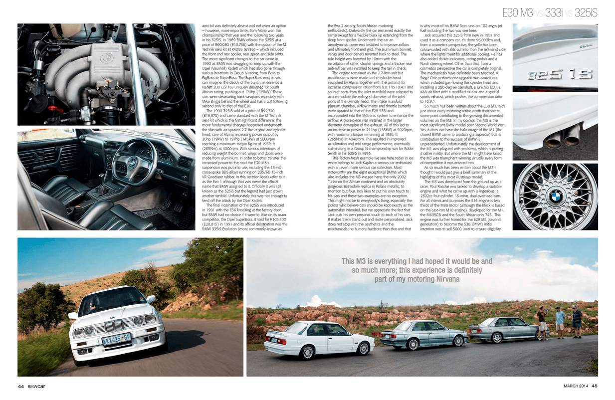 BMW Car March 2014 Pages 44 45