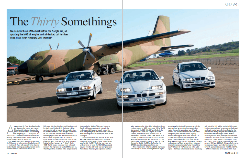BMW Car March 2015 Pages 50 51