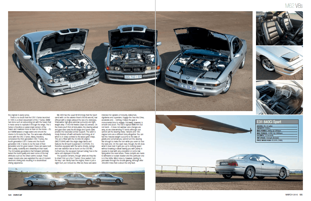 BMW Car March 2015 Pages 54 55