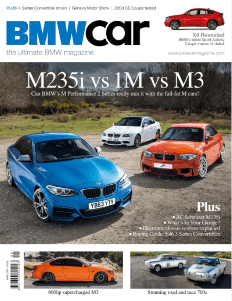 BMW Car May 2014