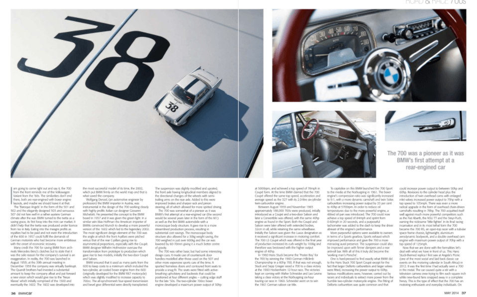 BMW Car May 2014 Pages 36 37