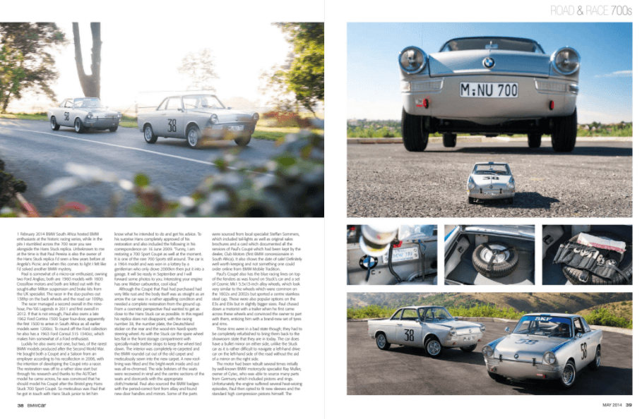BMW Car May 2014 Pages 38 39