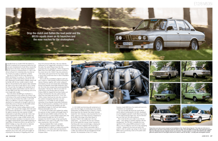 BMW Car May 2015 Pages 46 47