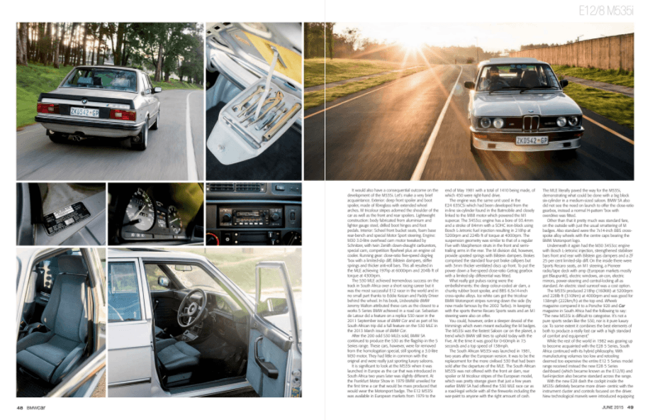 BMW Car May 2015 Pages 48 49
