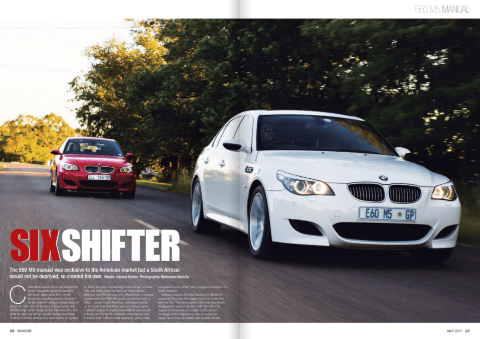 BMW Car May 2017 Pages 26 27