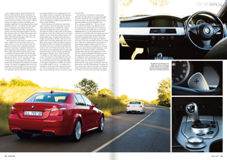 BMW Car May 2017 Pages 28 29