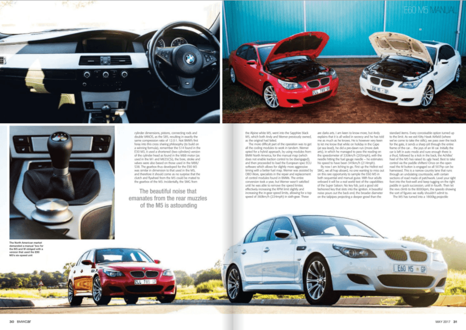 BMW Car May 2017 Pages 30 31