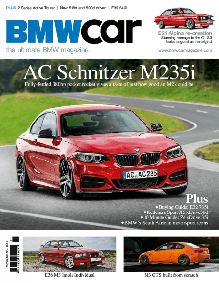 BMW Car November 2014 - Feature 1
