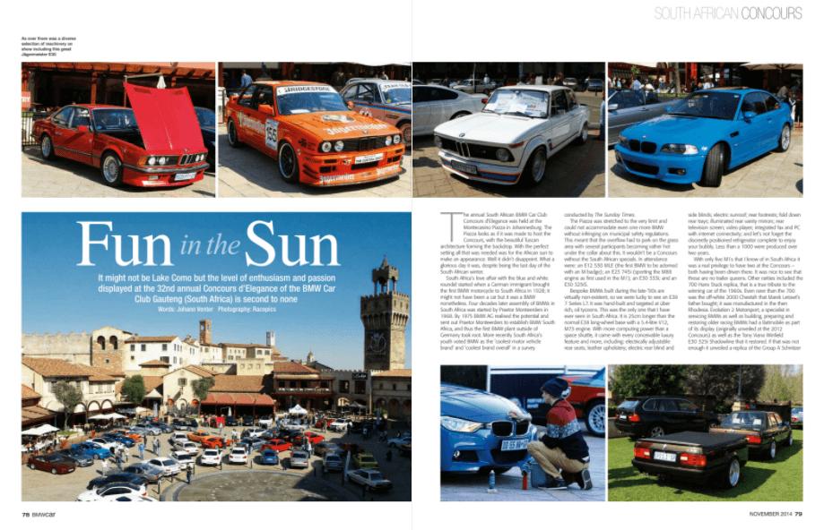 BMW Car November 2014 Pages 78 79