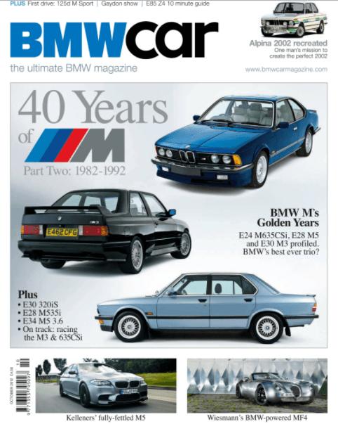 BMW Car October 2012