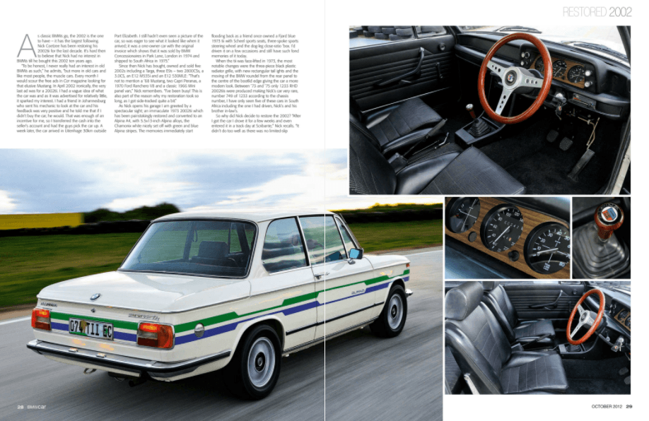 BMW Car October 2012 Pages 28 29