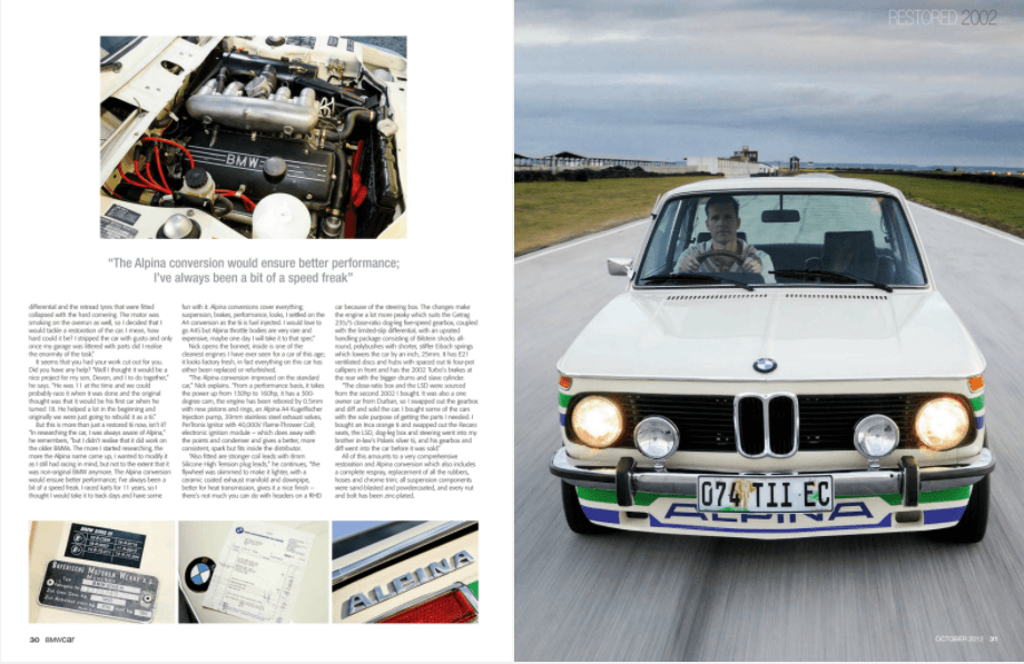 BMW Car October 2012 Pages 30 31