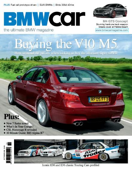 BMW Car October 2015