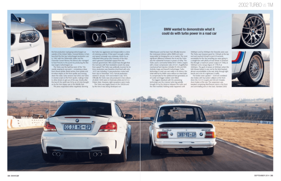 BMW Car September 2014 Pages 34 35