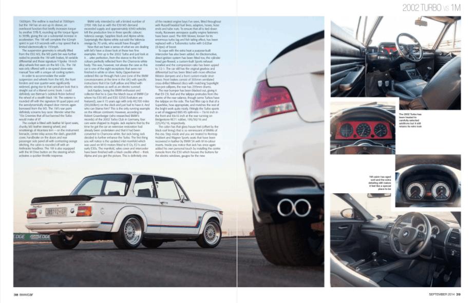 BMW Car September 2014 Pages 38 39