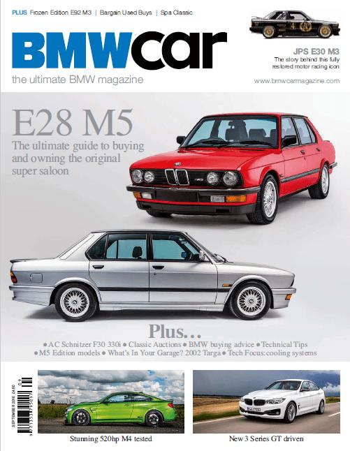 BMW Car September 2016