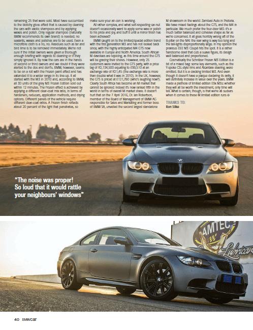 BMW Car September 2016 Page 40