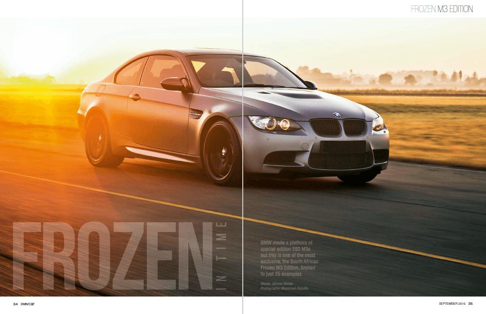 BMW Car September 2016 Pages 34 35