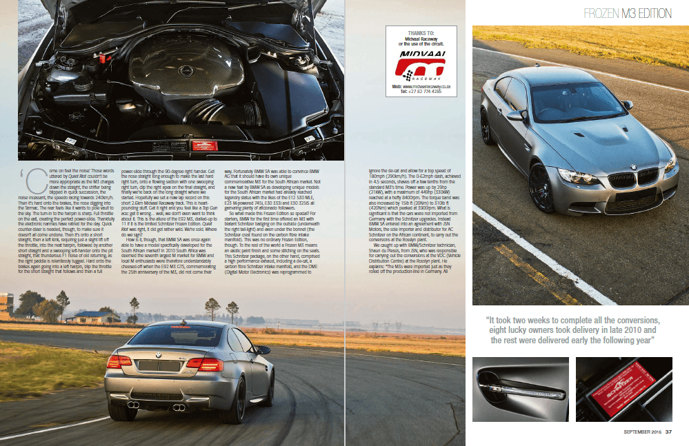 BMW Car September 2016 Pages 36 37