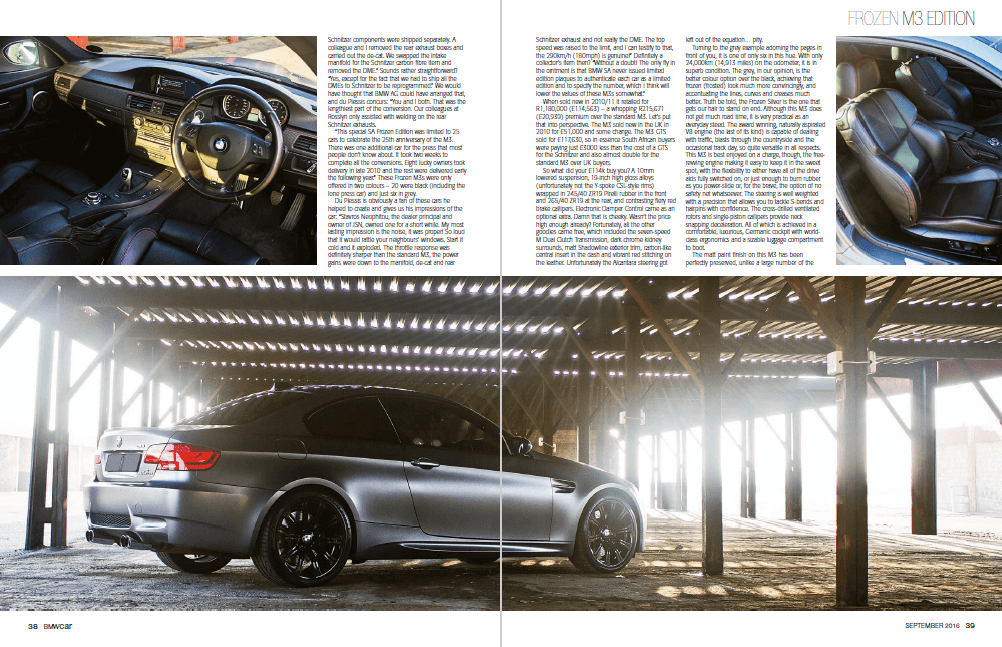 BMW Car September 2016 Pages 38 39