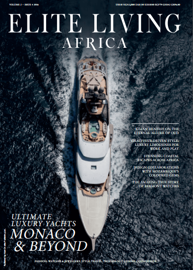 Elite Living Africa 4th Issue 2016 Cover
