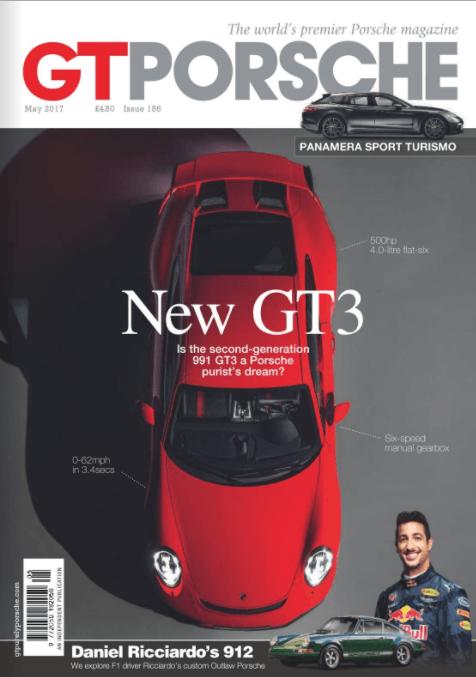 GT Porsche Issue 186 Cover