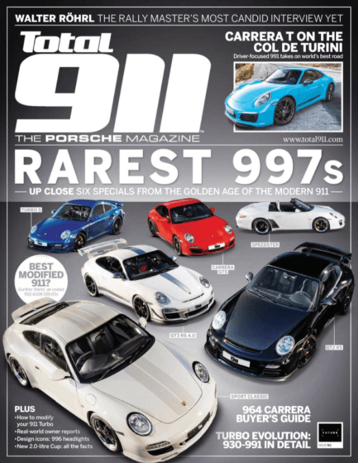 Total 911 Issue 162 Cover