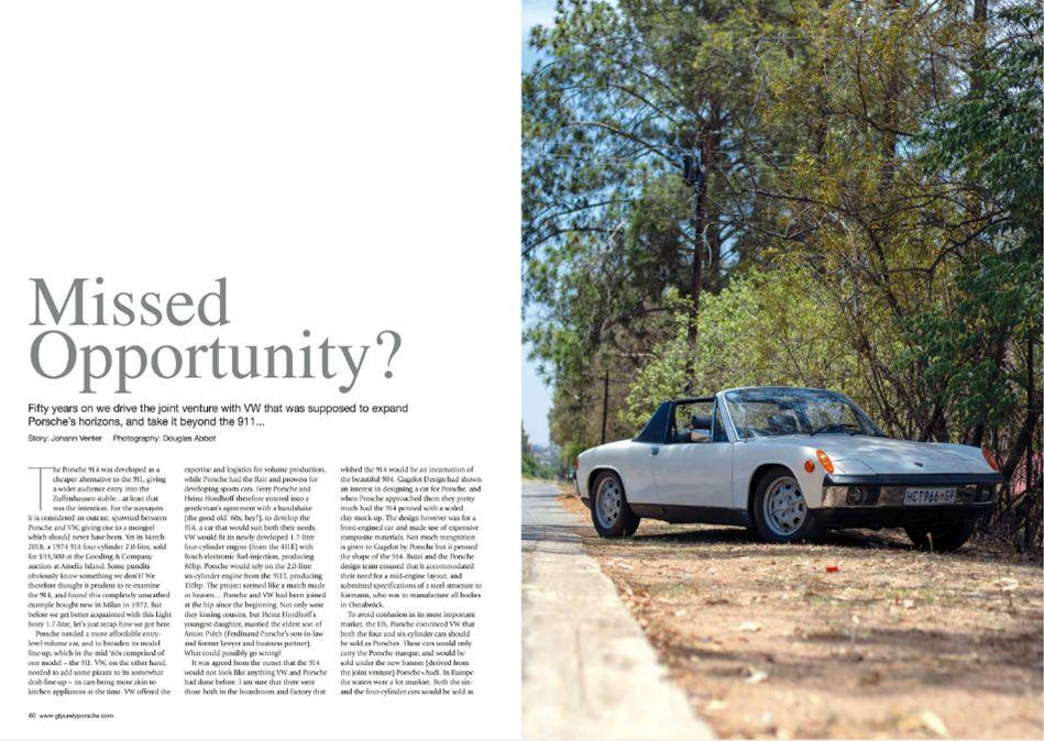 GT Porsche April 2019 Pages 60 61