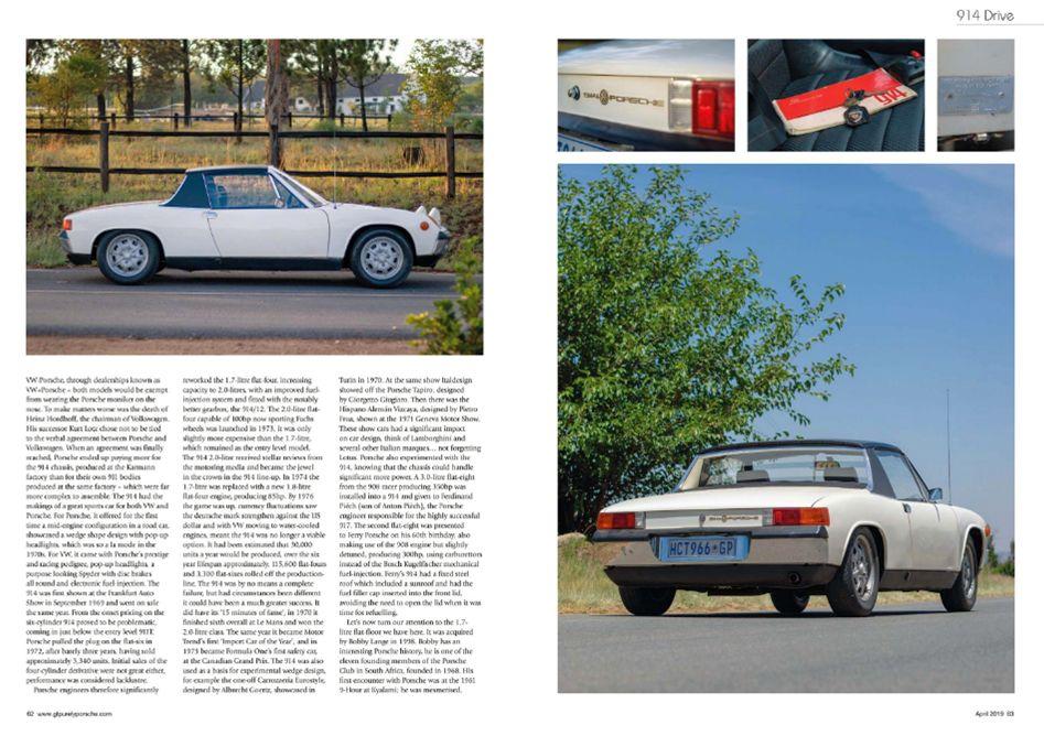 GT Porsche April 2019 Pages 62 63