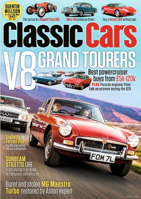 Thoroughbred and Classic Cars April 2019 Cover