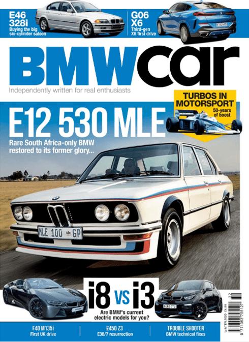 BMW Car Winter 2020