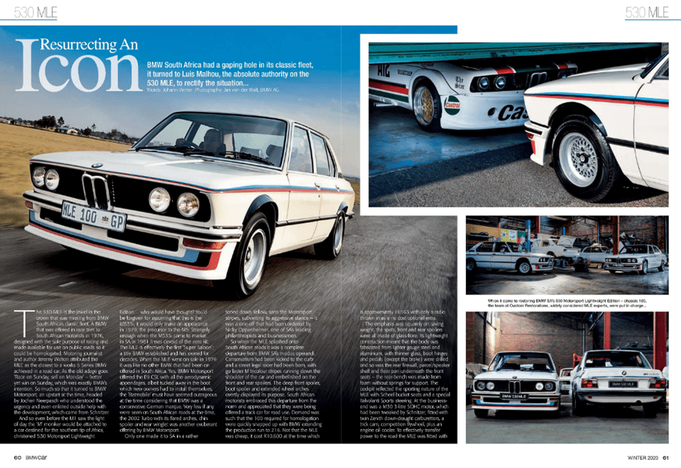 BMW Car Winter 2020 Pages 60 61