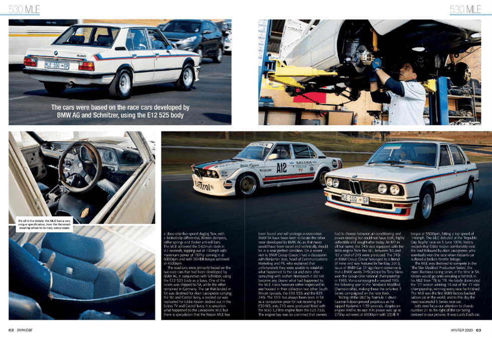 BMW Car Winter 2020 Pages 62 63